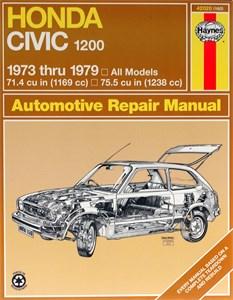 Haynes Reparationshandbok, Honda Civic 1200, Universal