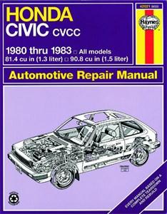 Haynes Reparationshandbok, Honda Civic 1300 & 1500 cc CVCC, Universal