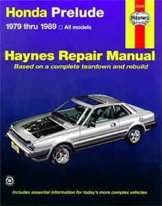Haynes Reparationshandbok, Honda Prelude CVCC, Universal