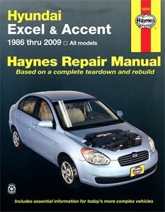 Haynes Reparationshandbok, Hyundai Excel & Accent, Universal