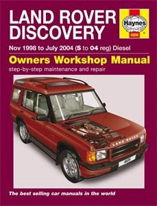 Haynes Reparationshandbok, Land Rover Discovery Diesel