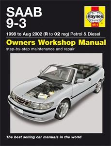 Haynes Reparationshandbok, Saab 9-3 Petrol & Diesel