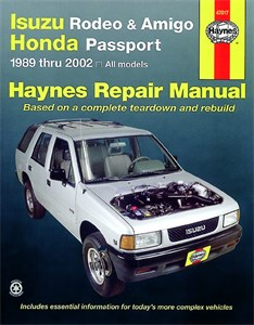 Haynes Reparationshandbok, Isuzu Rodeo, Amigo, Universal