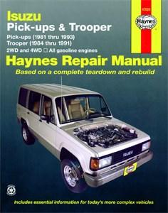Haynes Reparationshandbok, Isuzu Trooper & Pick-ups, Universal