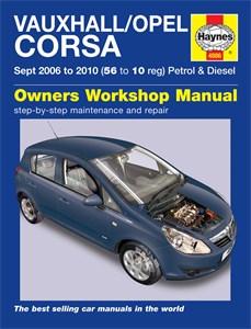 Haynes Reparationshandbok, Vauxhall/Opel Corsa, Universal