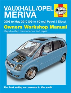 Haynes Reparationshandbok, Vauxhall/Opel Meriva, Vauxhall/Opel Meriva Petrol & Diesel