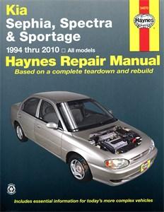 Haynes Reparationshandbok, Kia Sephia, Spectra & Sportage, Universal