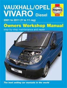 Haynes Reparationshandbok, Opel Vivaro, Universal