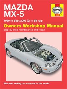 Haynes Reparationshandbok, Mazda MX-5, Universal