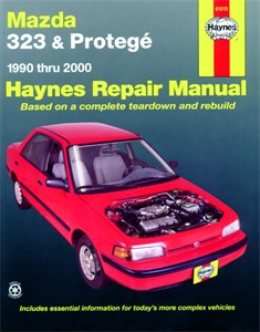 Haynes Reparationshandbok, Mazda 323 & Protegé