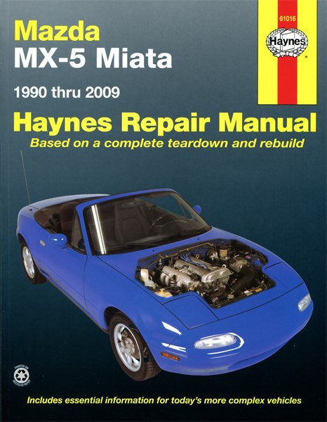 haynes reparationshandbok mazda mx 5 miata universal 279 kr 175063 oe 61016. Black Bedroom Furniture Sets. Home Design Ideas