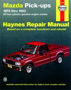 Haynes Reparationshandbok, Mazda Pick-ups