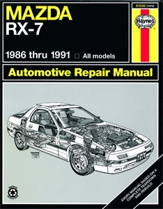 Haynes Reparationshandbok, Mazda RX-7