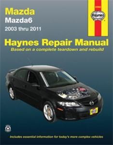 Haynes Reparationshandbok, Mazda 6