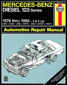 Haynes Reparationshandbok, Mercedes Benz Diesel 123, Universal