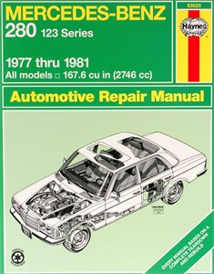 Haynes Reparationshandbok, Mercedes Benz 280 (123 Series)