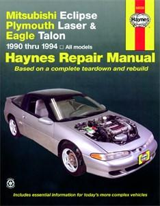 Haynes Reparationshandbok, Mitsubishi Eclipse, Laser, Talon