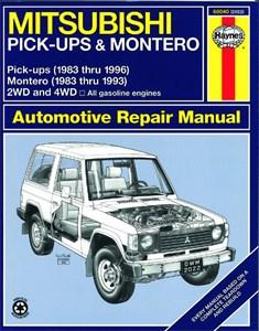Haynes Reparationshandbok, Mitsubishi Pick-up & Montero