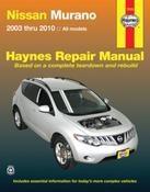 Haynes Reparationshandbok, Nissan Murano