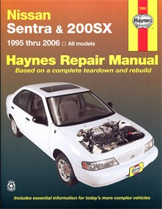 Haynes Reparationshandbok, Nissan Sentra & 200SX, Universal