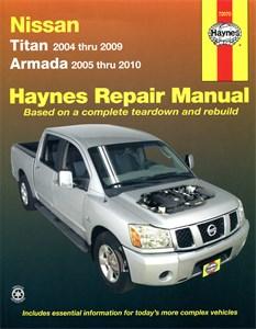 Haynes Reparationshandbok, Nissan Titan & Armada, Universal