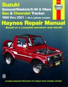 Haynes Reparationshandbok, Suzuki Samurai, Sidekick, Universal