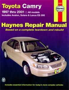 Haynes Reparationshandbok, Lexus ES 300, Toyota Camry, Avalon, Solara, Lexus ES 300