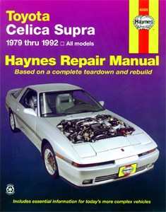 Haynes Reparationshandbok, Toyota Celica Supra, Universal