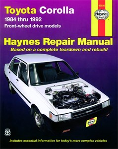 Haynes Reparationshandbok, Toyota Corolla (FWD), Universal