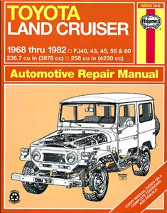 Haynes Reparationshandbok, Toyota Land Cruiser FJ40, 43-60, Toyota Land Cruiser FJ40, 43, 45, 55 & 60