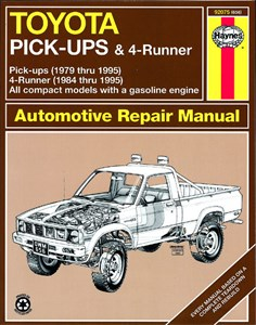 Haynes Reparationshandbok, Toyota Pick-up, Universal