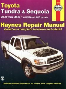 Haynes Reparationshandbok, Toyota Tundra & Sequoia, Universal