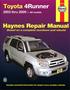 Haynes Reparationshandbok, Toyota 4Runner