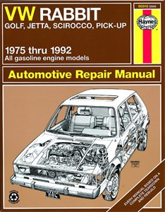 Haynes Reparationshandbok, VW Rabbit, Jetta (Gas)
