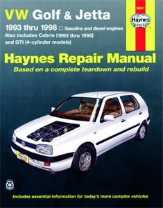 Haynes Reparationshandbok, VW Golf & Jetta