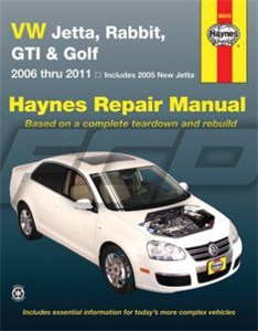 Haynes Reparationshandbok, VW Jetta, Rabbit & GTi, Universal