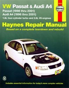 Bildel: Haynes Reparationshandbok, Audi A4, Universal