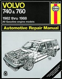 Haynes Reparationshandbok, Volvo 740 & 760 Series