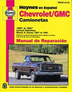 Haynes Reparationshandbok, Chevrolet/GMC Camionetas