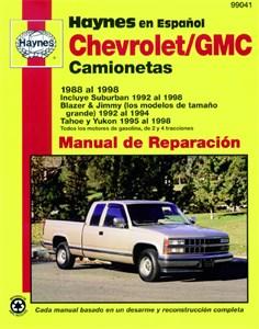 Haynes Reparationshandbok, Chevrolet/GMC Camionetas, Universal