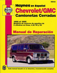 Haynes Reparationshandbok, Chevrolet/GMC Camionetas Cerradas