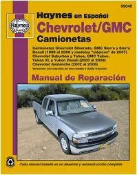 Haynes Reparationshandbok, Chevrolet & GMC Camionetas, Universal