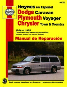 Haynes Reparationshandbok, Dodge Caravan, Plymouth Voyager, Dodge Caravan, Plymouth Voyager, Chrysler Town & Country
