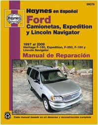 Haynes Reparationshandbok, Ford F-150 (97 al 03) Expedition, Universal
