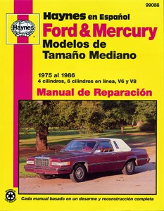 Haynes Reparationshandbok, Ford & Mercury Modelos, Universal