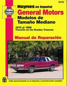 Haynes Reparationshandbok, GM Modelos de Tamaño Mediano, General Motors Modelos de Tamaño Mediano