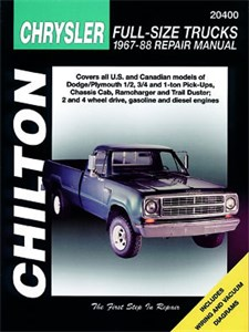 Dodge Pick-Ups 1967 - 1990, Dodge Pick-ups