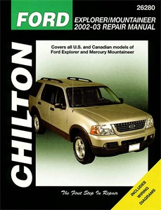 Haynes Reparationshandbok, Ford Explorer Mercury Mountaineer, Ford Explorer & Mercury Mountaineer