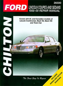 Lincoln Coupes and Sedans 1988 - 01, Lincoln Coupes & Sedans