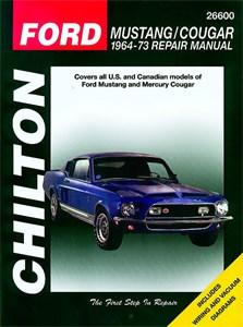 Haynes Reparationshandbok, Ford Mustang/Mercury Cougar, Universal